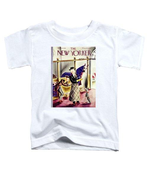 New Yorker September 26 1936 Toddler T-Shirt