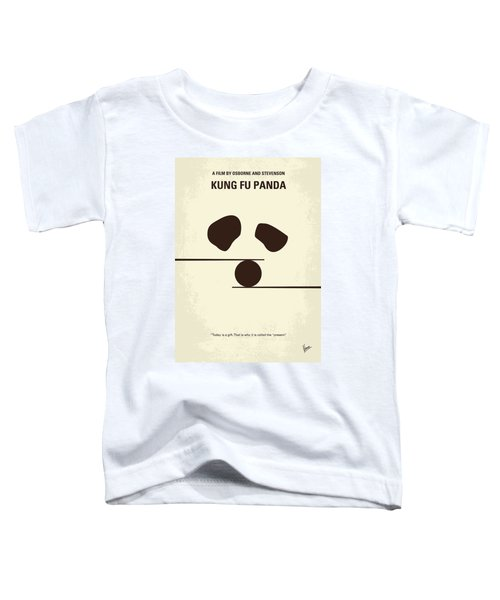 No227 My Kung Fu Panda Minimal Movie Poster Toddler T-Shirt