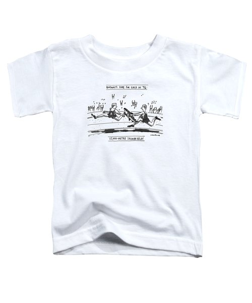 Norway's Hope For Gold In '96: 15 Toddler T-Shirt
