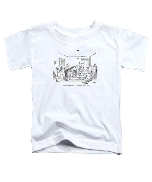 Now, Last Time, Near The End Of Ravel's 'bolero,' Toddler T-Shirt