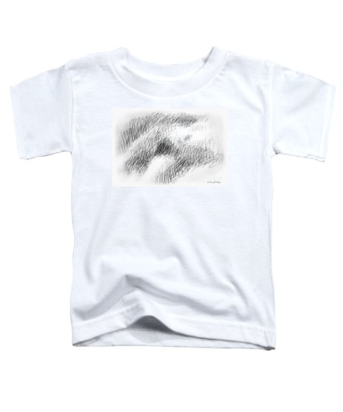 Nude Female Abstract Drawings 1 Toddler T-Shirt