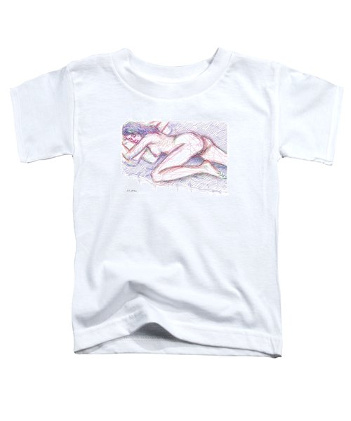 Nude Female Sketches 5 Toddler T-Shirt
