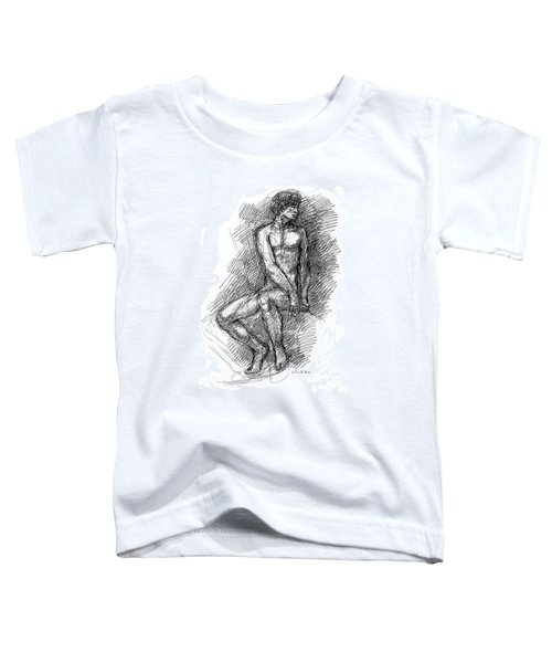 Nude Male Sketches 1 Toddler T-Shirt