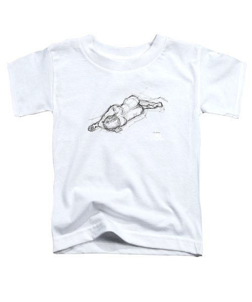 Nude Male Sketches 4 Toddler T-Shirt