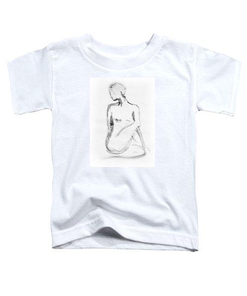 Nude Model Gesture Vi Toddler T-Shirt