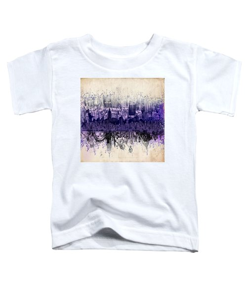 Nyc Tribute Skyline 2 Toddler T-Shirt