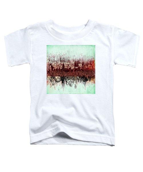 Nyc Tribute Skyline 3 Toddler T-Shirt