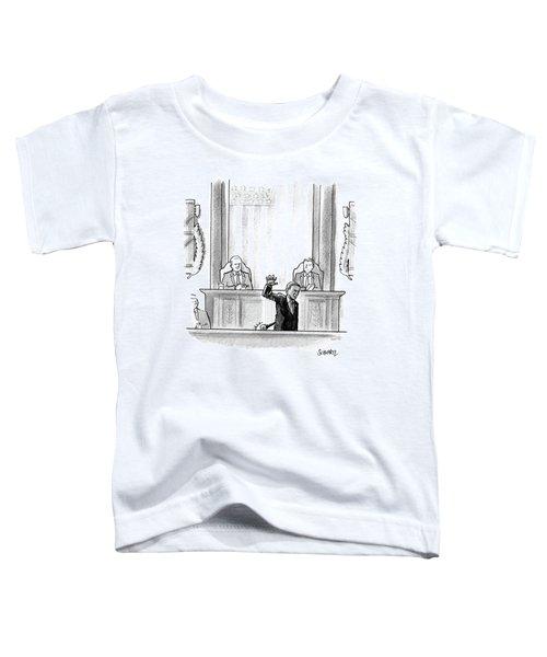 Obama Dropping A Mic Toddler T-Shirt