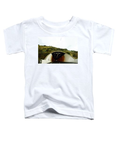 Oil Painting - Approaching A Tunnel Toddler T-Shirt