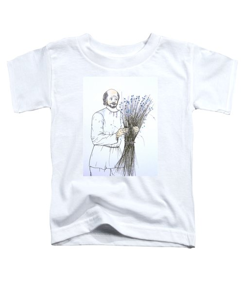 Old Man And Flax Toddler T-Shirt