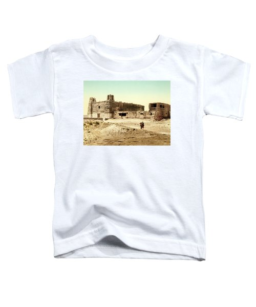 Old Mission Church At Acoma Toddler T-Shirt