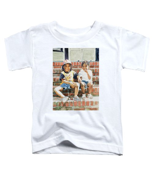 On The Front Step Toddler T-Shirt
