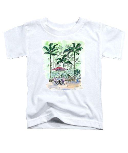 On The Lanai Toddler T-Shirt