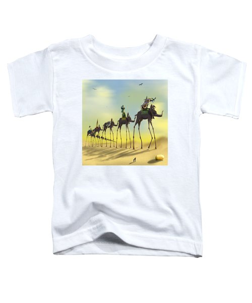 On The Move 2 Without Moon Toddler T-Shirt