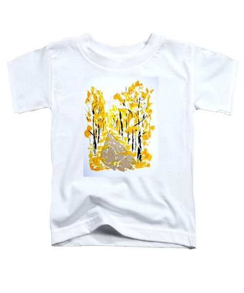 On The Way To School Toddler T-Shirt
