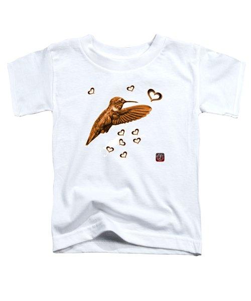 Orange Hummingbird - 2055 F S M Toddler T-Shirt
