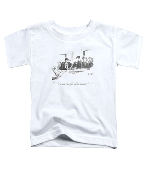 Ordinarily, I Lean Toward A Land-based-mx System Toddler T-Shirt