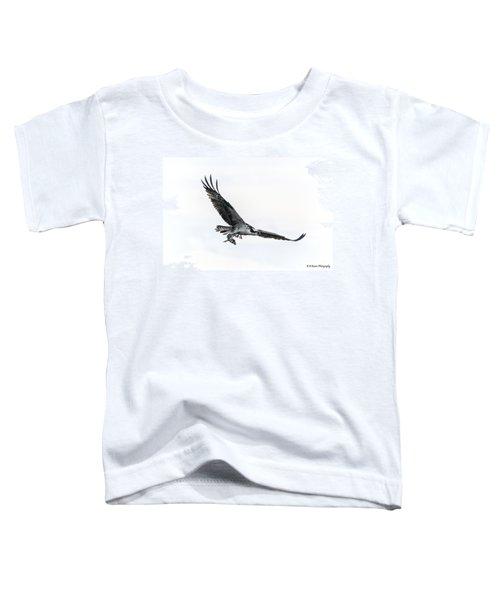 Osprey In Flight Toddler T-Shirt