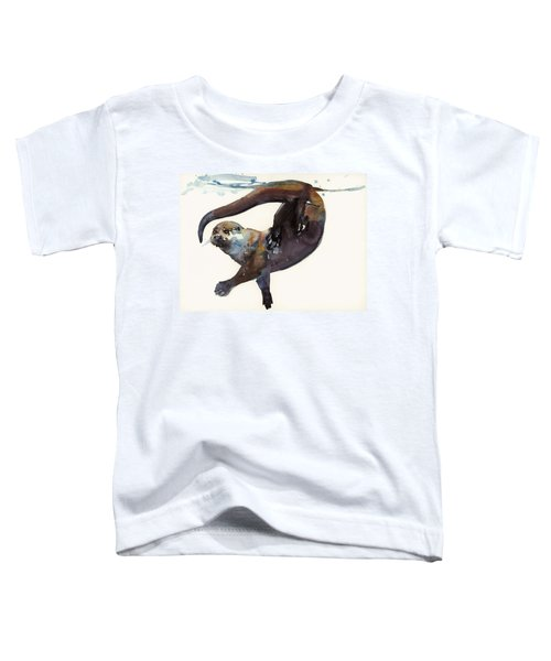 Otter Study II  Toddler T-Shirt
