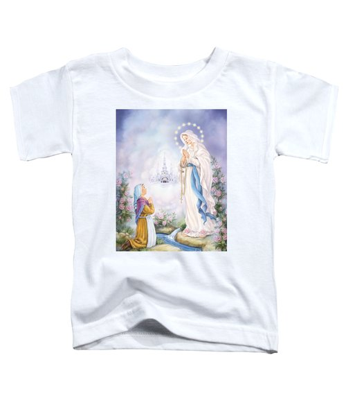 Our Lady Of Lourdes Toddler T-Shirt