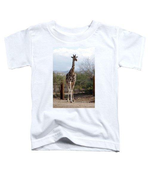 Out Of Africa  Giraffe 1 Toddler T-Shirt