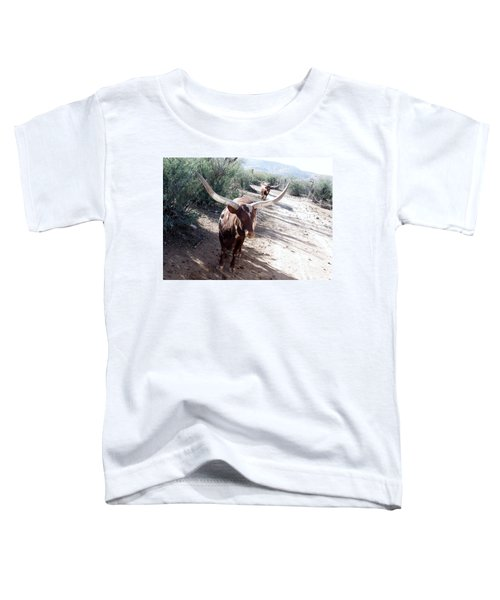 Out Of Africa  Long Horns Toddler T-Shirt