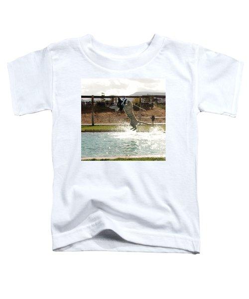 Out Of Africa Tiger Splash 7 Toddler T-Shirt