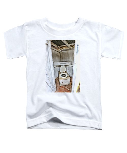 Outhouse A Look Inside Toddler T-Shirt