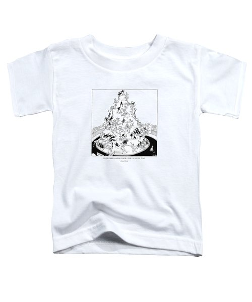 Overlooked Opportunities For A Gayer Toddler T-Shirt by Carl Rose