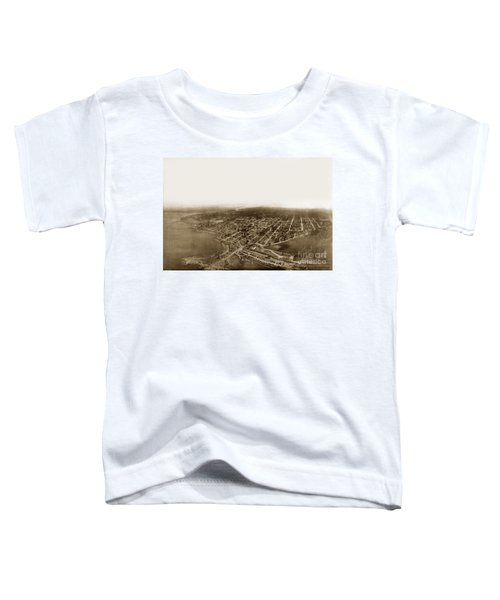Pacific Grove 1200 From Feet Above Lovers Point And Monterey Bay 1906 Toddler T-Shirt