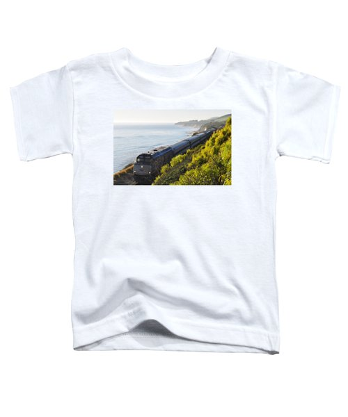 Pacific Surfliner Along The Central Coast Toddler T-Shirt