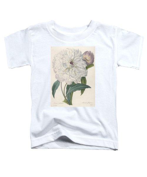 Paeonia Flagrans Peony Toddler T-Shirt
