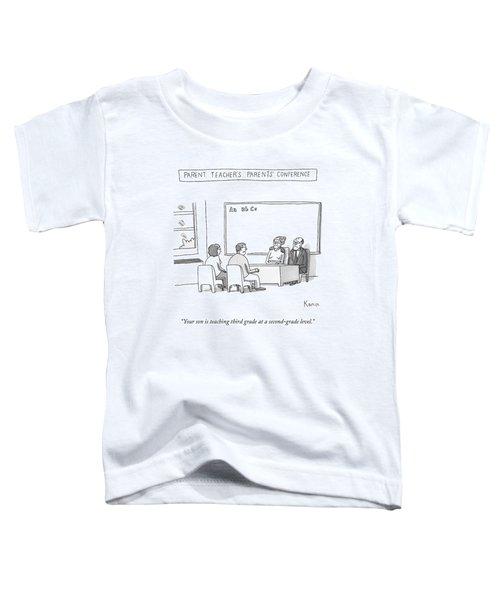 Parent Teacher's Parents Conference -- An Elderly Toddler T-Shirt