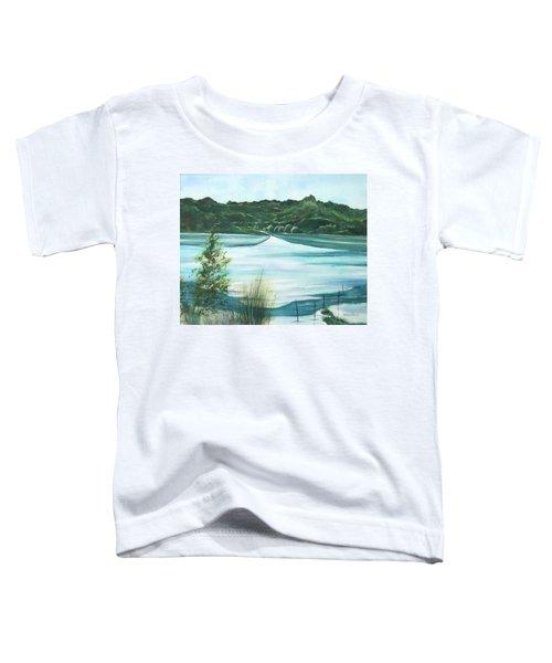 Peaceful Lake Toddler T-Shirt