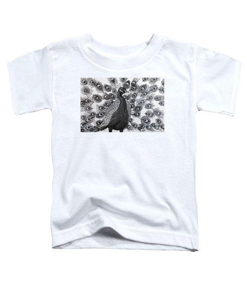 Peacock Walk Toddler T-Shirt