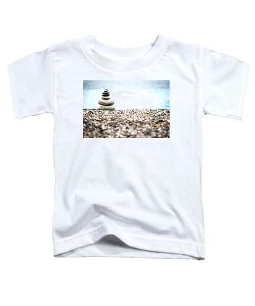 Pebble Stone On Beach Toddler T-Shirt