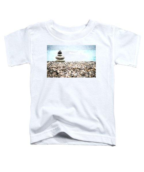 Pebble Stone On Beach Toddler T-Shirt