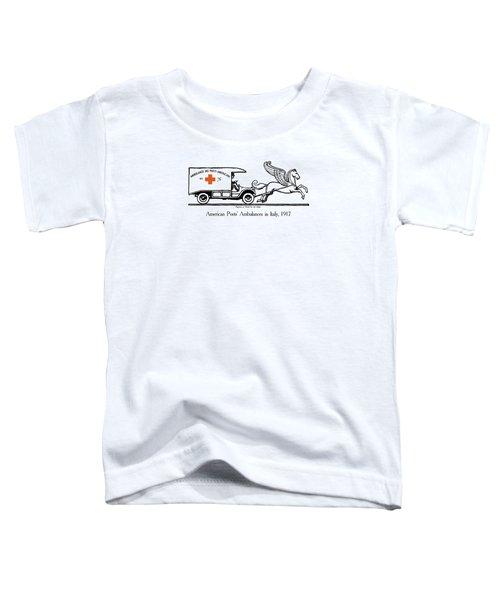 Pegasus At Work For The Allies Toddler T-Shirt