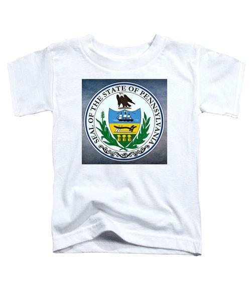 Pennsylvania State Seal Toddler T-Shirt