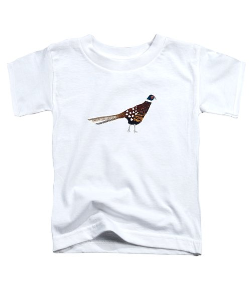 Pheasant Toddler T-Shirt by Isobel Barber