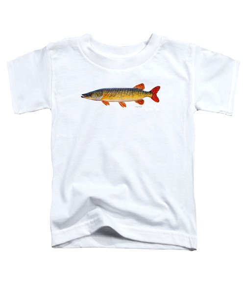 Pike Toddler T-Shirt by Carey Chen