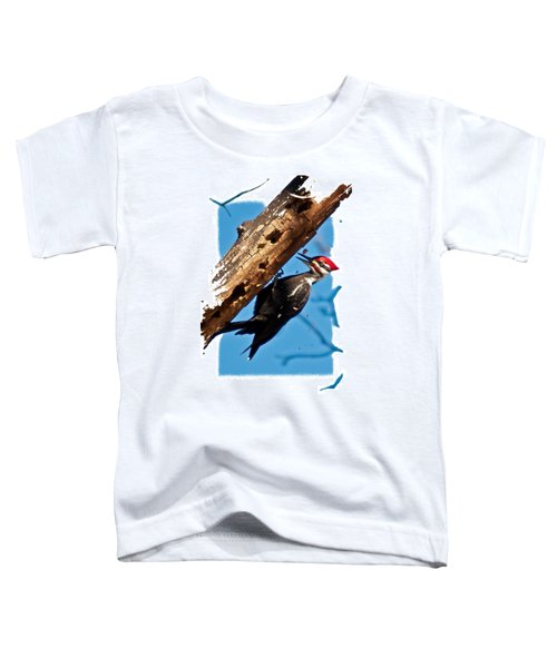 Pileated Woodpecker Toddler T-Shirt