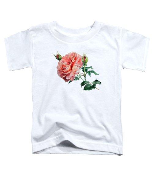 Pink Rose Odette  Toddler T-Shirt