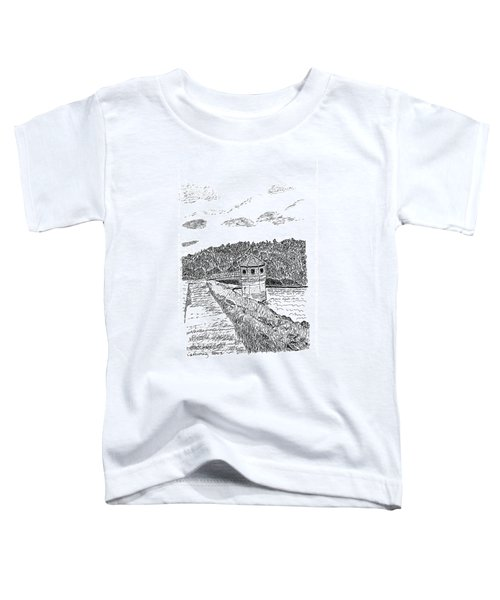Pittsburg Dam Toddler T-Shirt