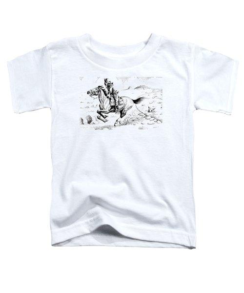 Pony Express Rider Toddler T-Shirt