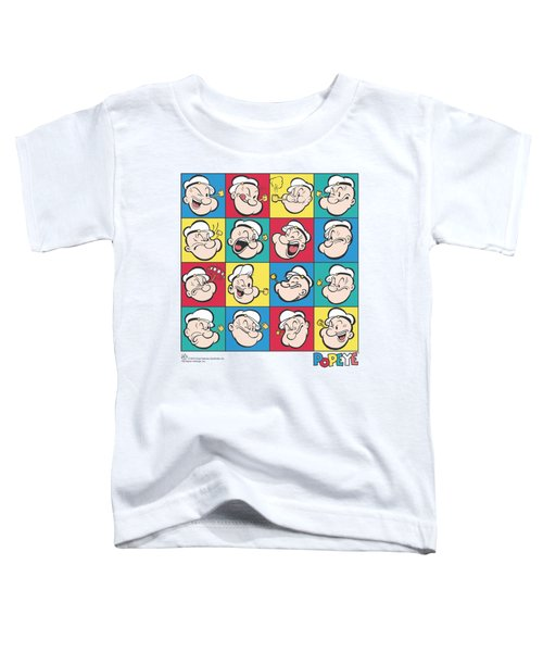 Popeye - Color Block Toddler T-Shirt