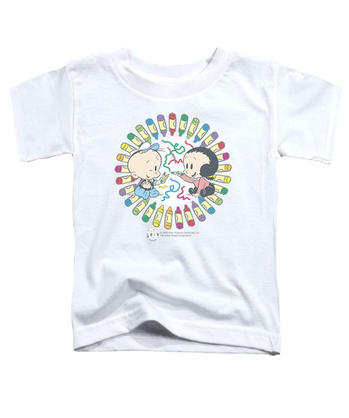 Popeye - Fun With Crayons Toddler T-Shirt by Brand A
