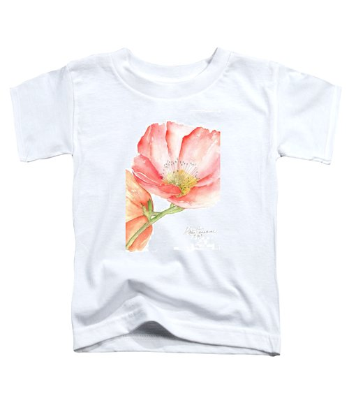 Poppy Bloom Toddler T-Shirt
