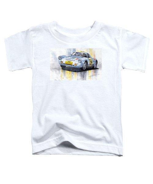 Porsche 550 Coupe 154 Carrera Panamericana 1953 Toddler T-Shirt