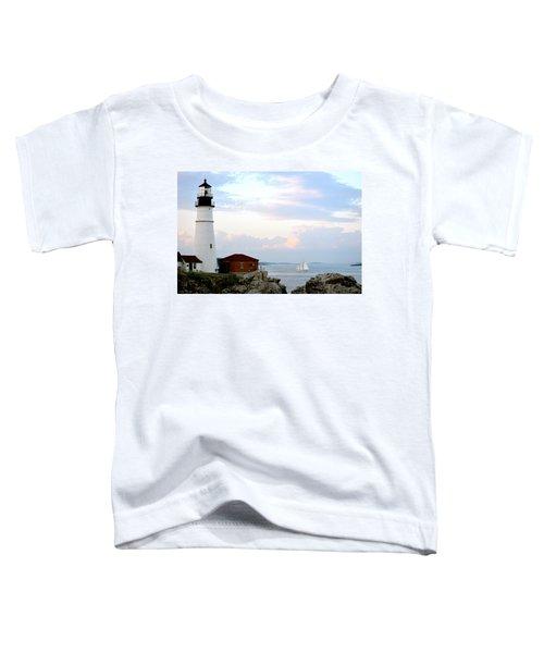 Portland Head Light Toddler T-Shirt